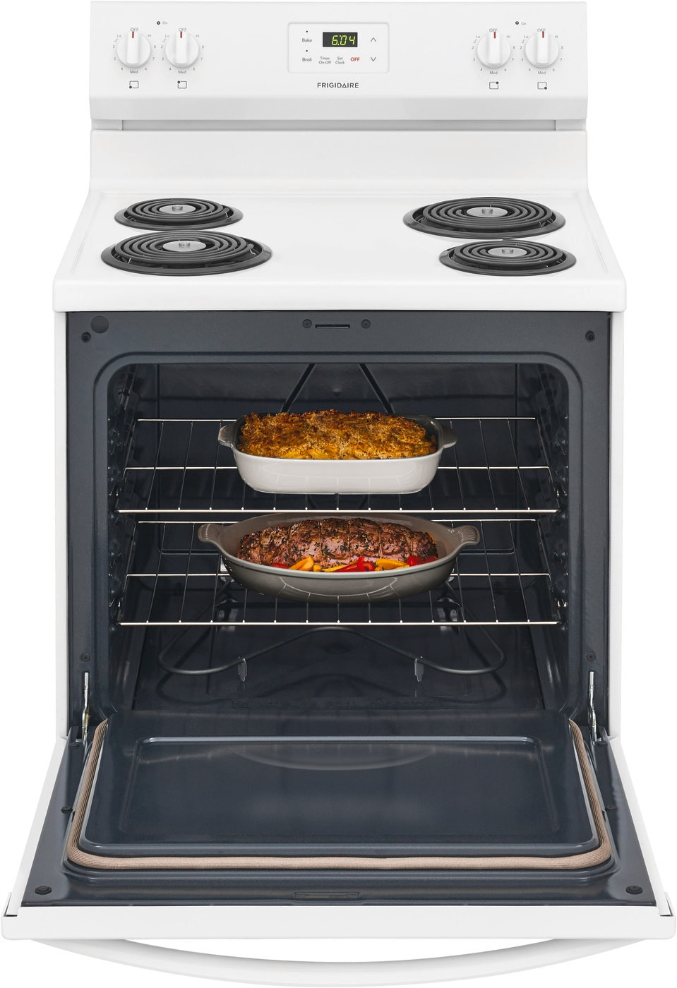 "30"" Electric Range White FCRC3005AW"