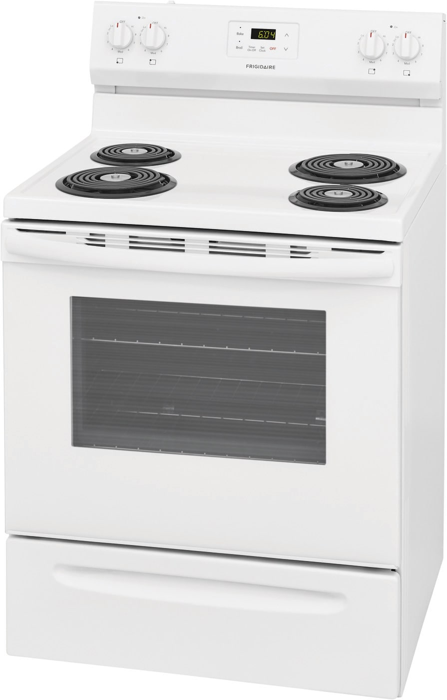 "30"" Electric Range White FCRC3012AW"