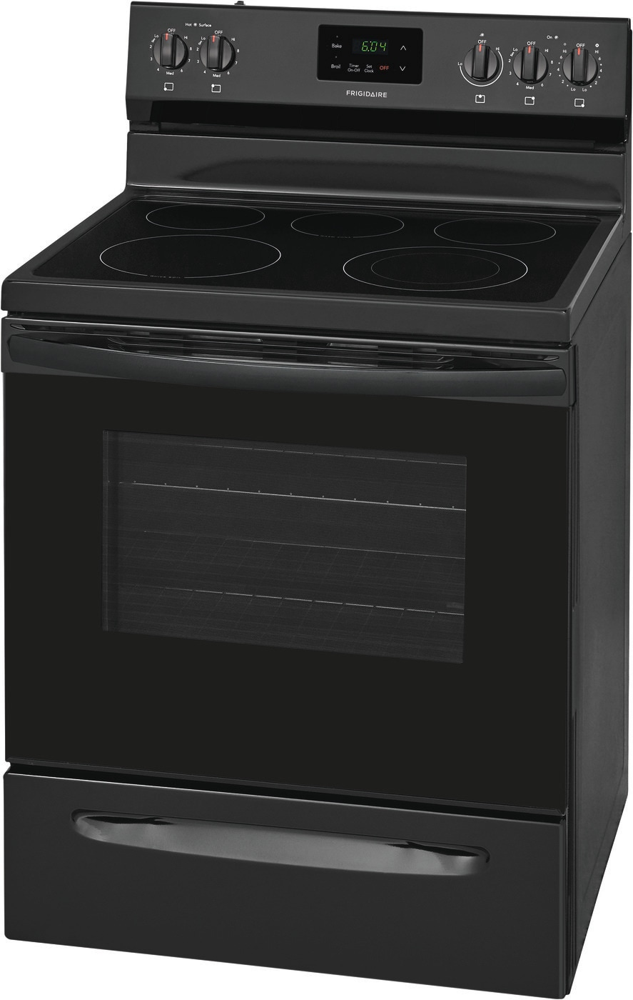 "30"" Electric Range Black FCRE3052AB"