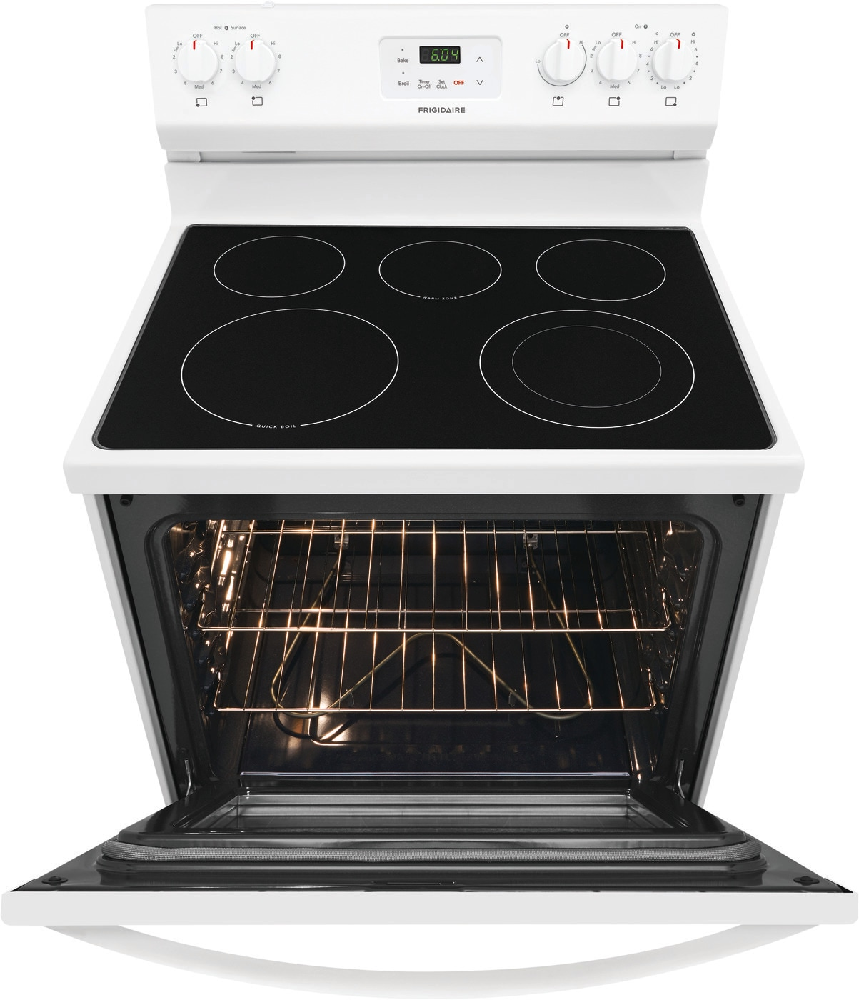 "30"" Electric Range White FCRE3052AW"