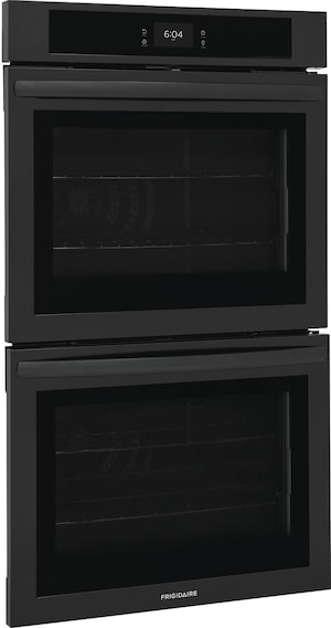 """30"""" Double Electric Wall Oven with Fan Convection Black FCWD3027AB"""