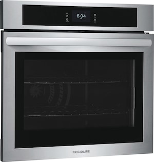 """30"""" Single Electric Wall Oven with Fan Convection Stainless Steel FCWS3027AS"""
