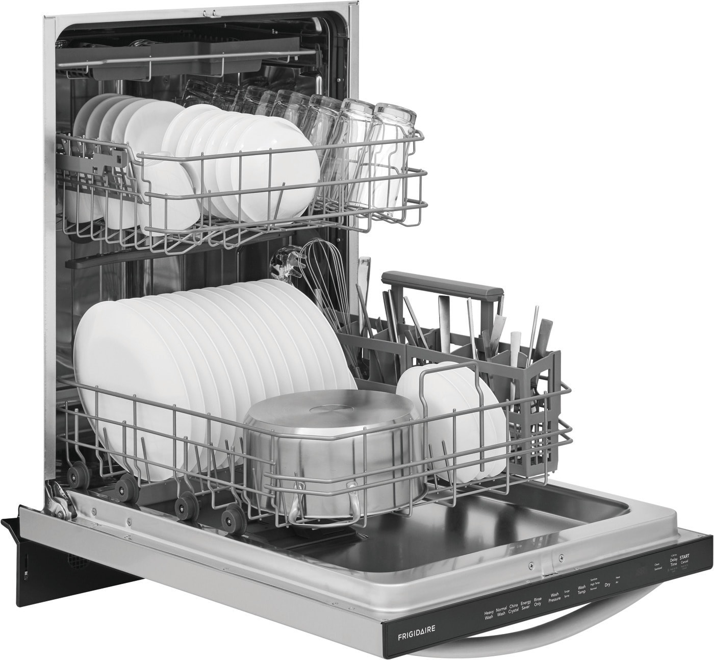 "24"" Built-in Dishwasher with EvenDry™ Stainless Steel FDSH4501AS"