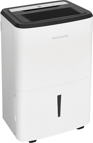 High Humidity 50 Pint Capacity Dehumidifier with Built In Pump White FFAP5033W1