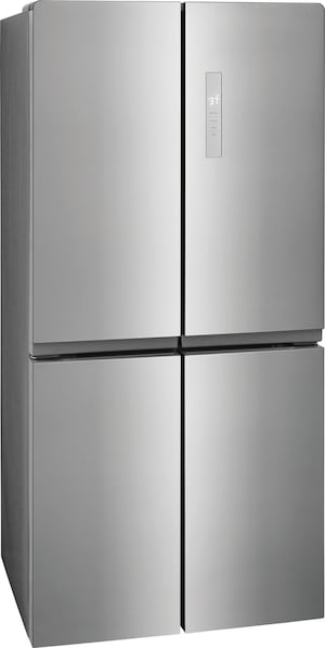 17.4 Cu. Ft. 4 Door Refrigerator Brushed Steel FFBN1721TV