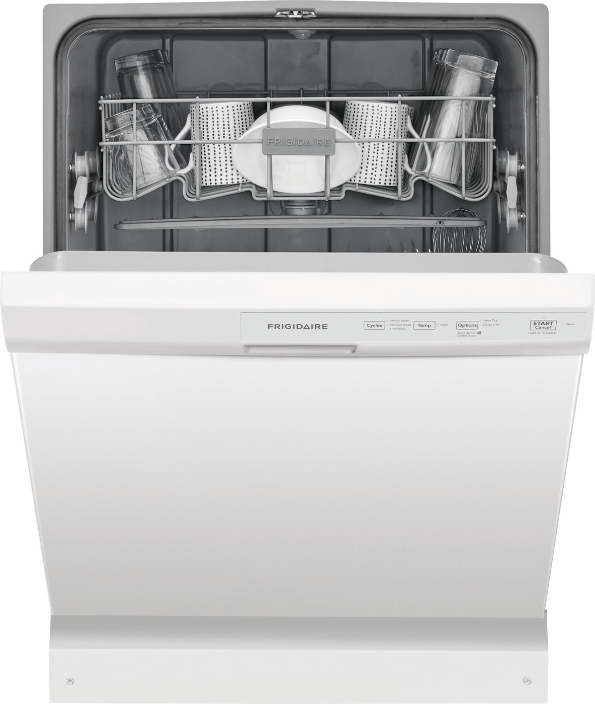 Frigidaire 24 White Built-In Dishwasher Tools & Home Improvement ...