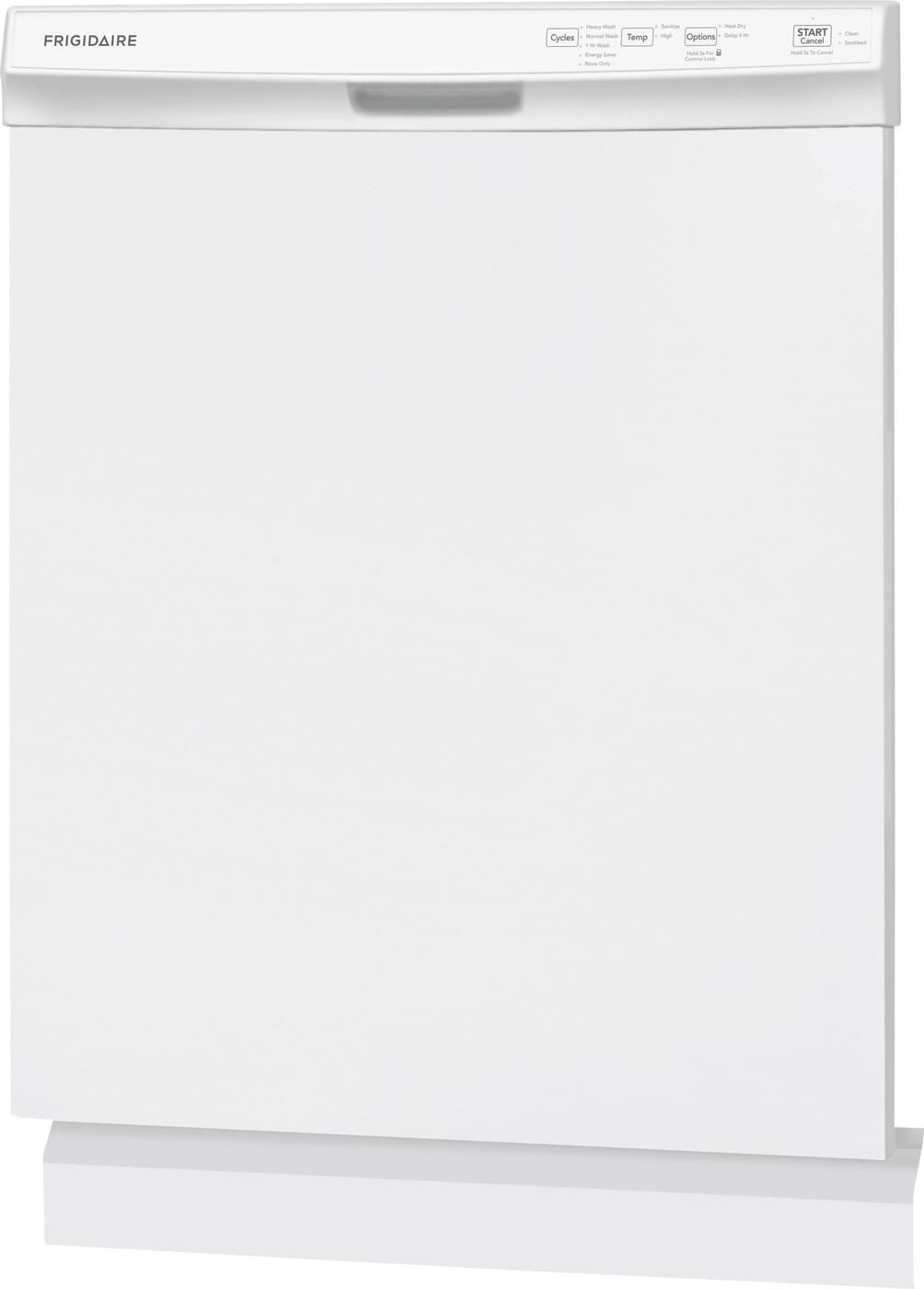 "24"" Built-In Dishwasher White FFCD2418UW"