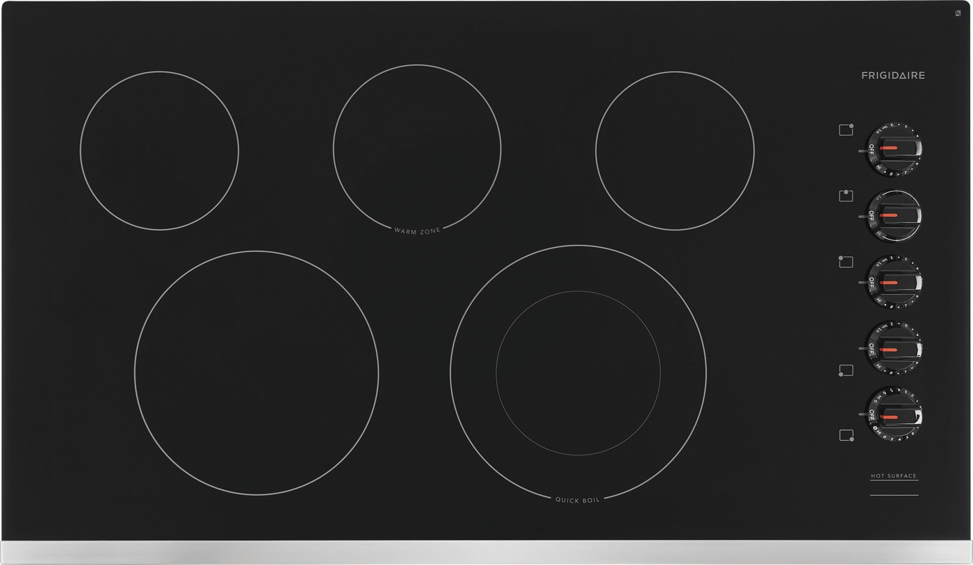"36"" Electric Cooktop Stainless Steel FFEC3625US"