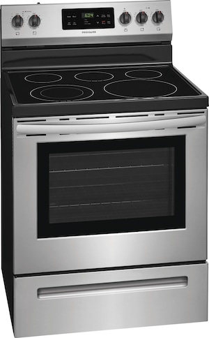 "30"" Electric Range Stainless Steel FFEF3052TS"