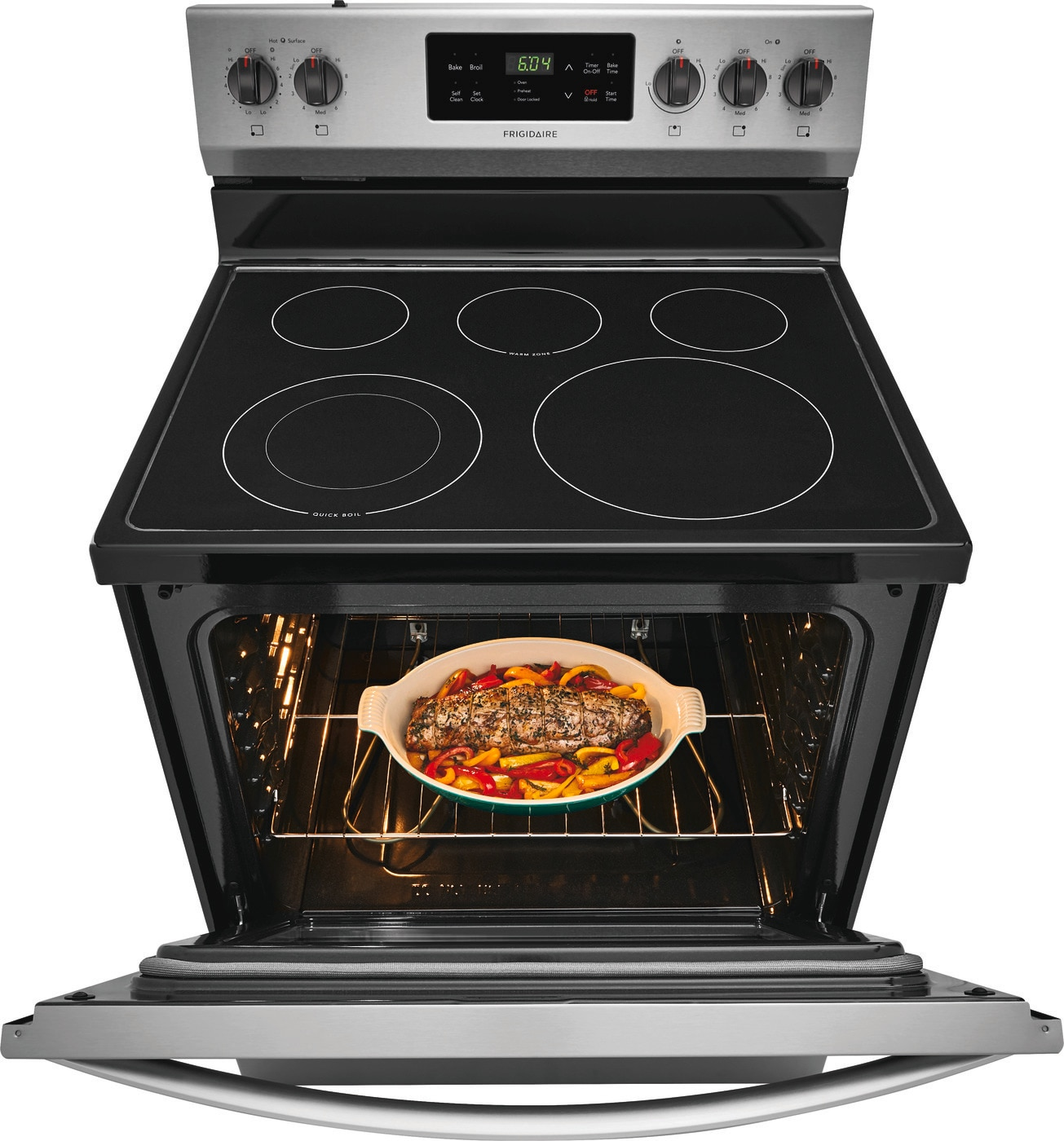 "30"" Electric Range Stainless Steel FFEF3054TS"