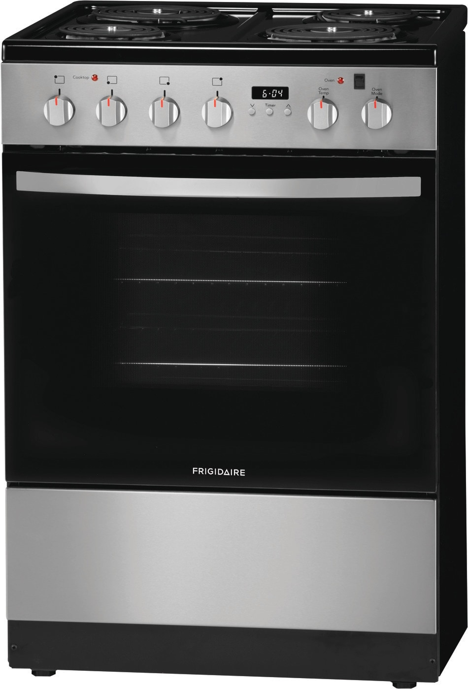 "24"" Freestanding Electric Range Stainless Steel FFEH2422US"