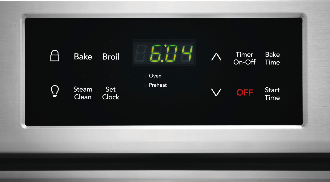 "30"" Front Control Electric Range Stainless Steel FFEH3051VS"