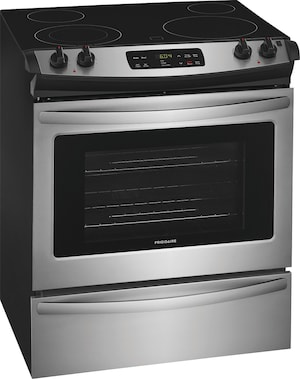 "30"" Slide-In Electric Range Stainless Steel FFES3026TS"