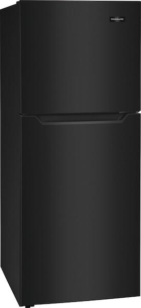 10.1 Cu. Ft. Top Freezer Apartment-Size Refrigerator Black FFET1022UB