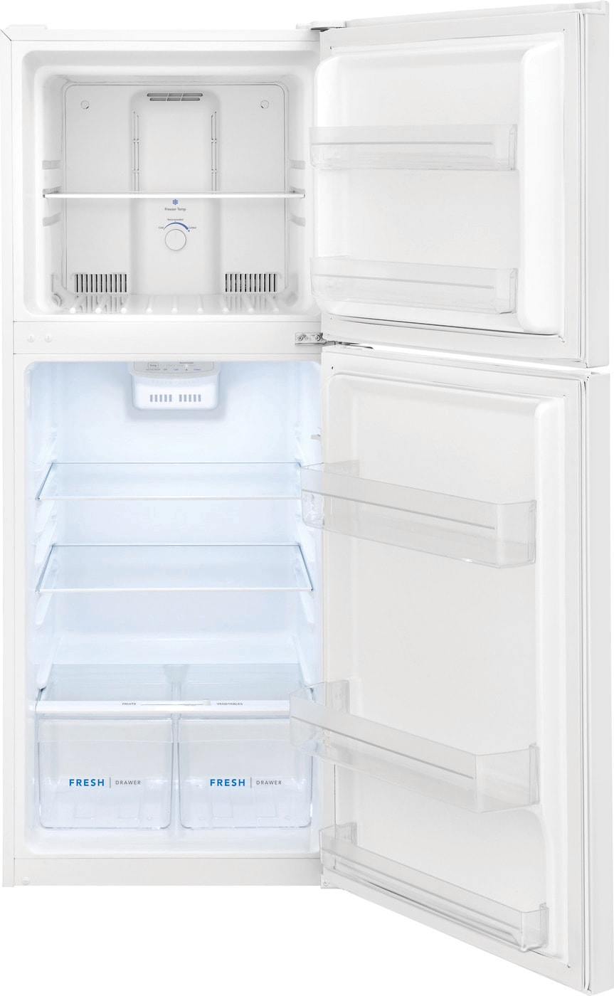 11.6 Cu. Ft. Top Freezer Apartment-Size Refrigerator White FFET1222UW