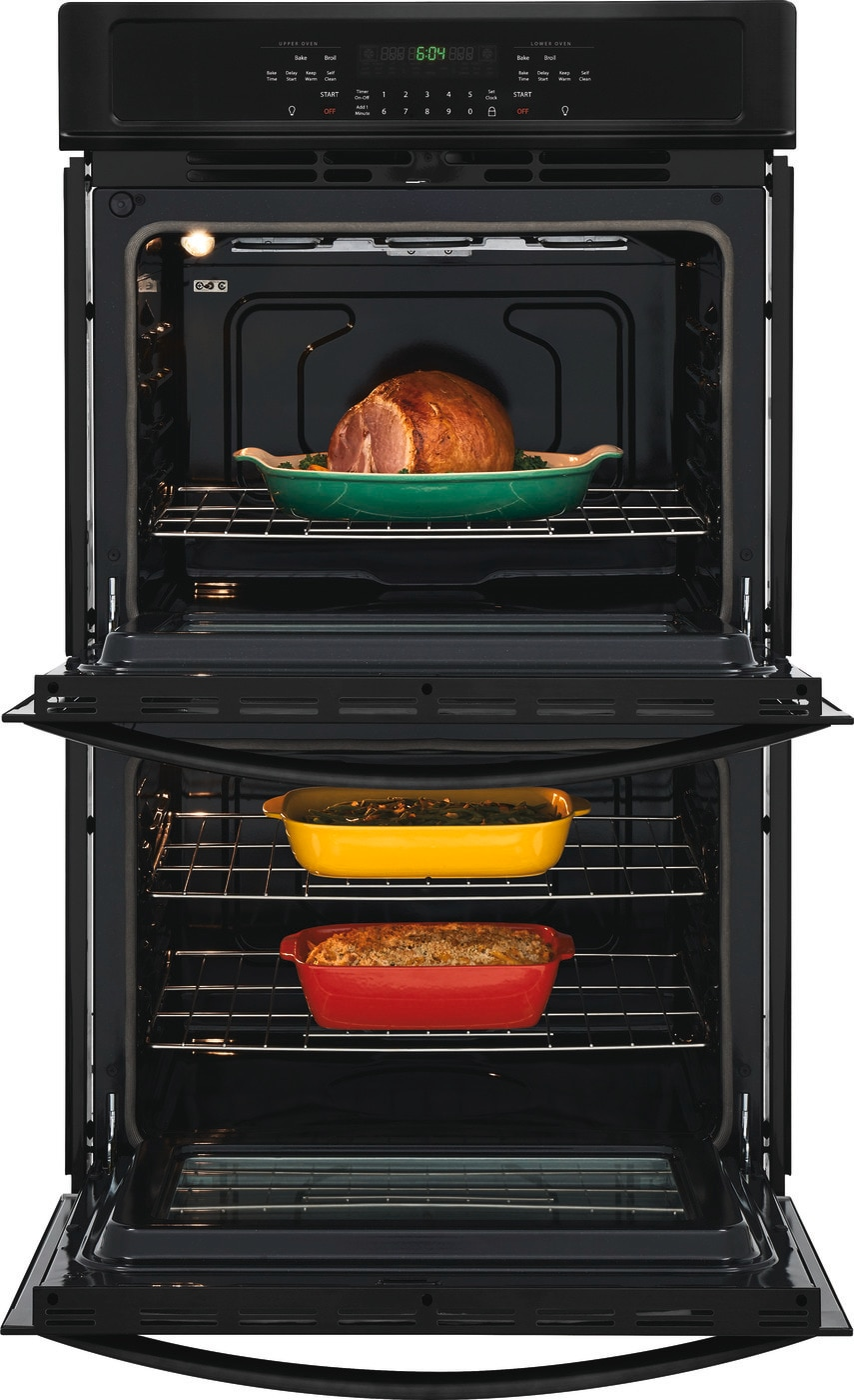 "30"" Double Electric Wall Oven Black FFET3026TB"