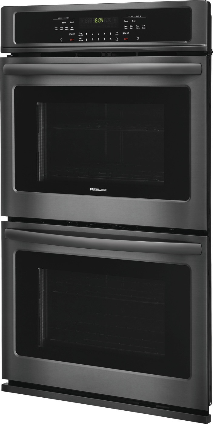 "30"" Double Electric Wall Oven Black Stainless Steel FFET3026TD"
