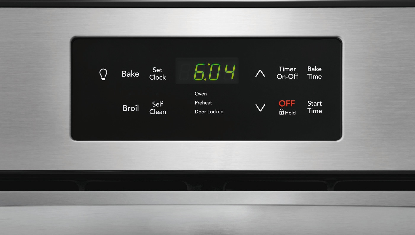 "24"" Single Electric Wall Oven Stainless Steel FFEW2426US"