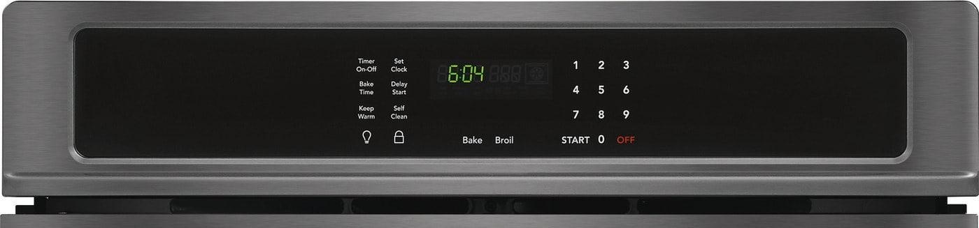 "30"" Single Electric Wall Oven Black Stainless Steel FFEW3026TD"