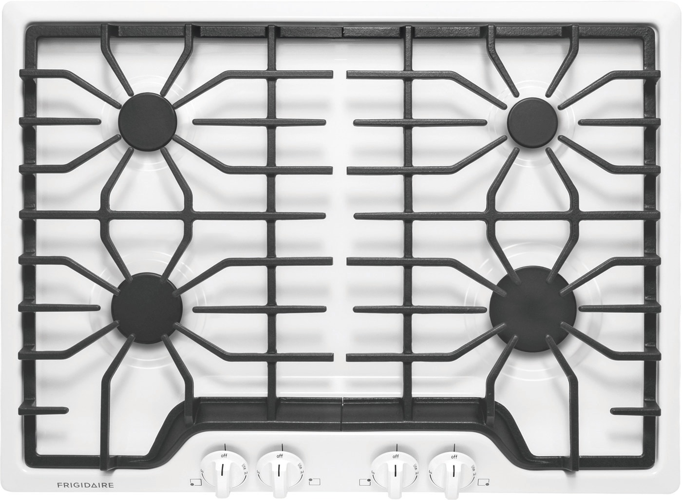 "30"" Gas Cooktop White FFGC3026SW"