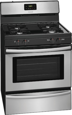 """30"""" Gas Range Stainless Steel FFGF3016TS"""