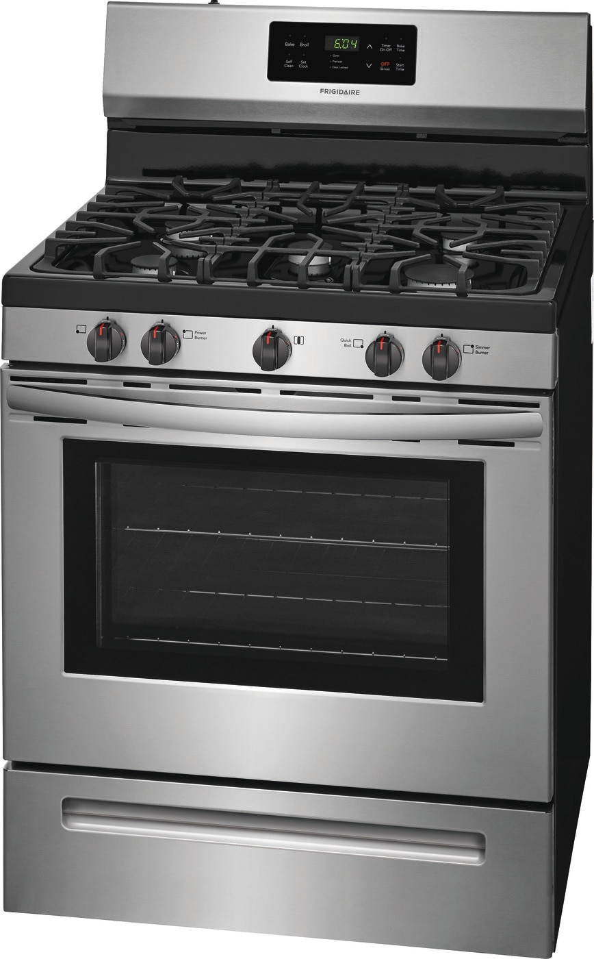 "30"" Gas Range Stainless Steel FFGF3054TS"