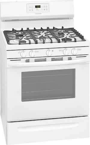 Cuisinière au gaz de 30 po Blanc FFGF3054TW