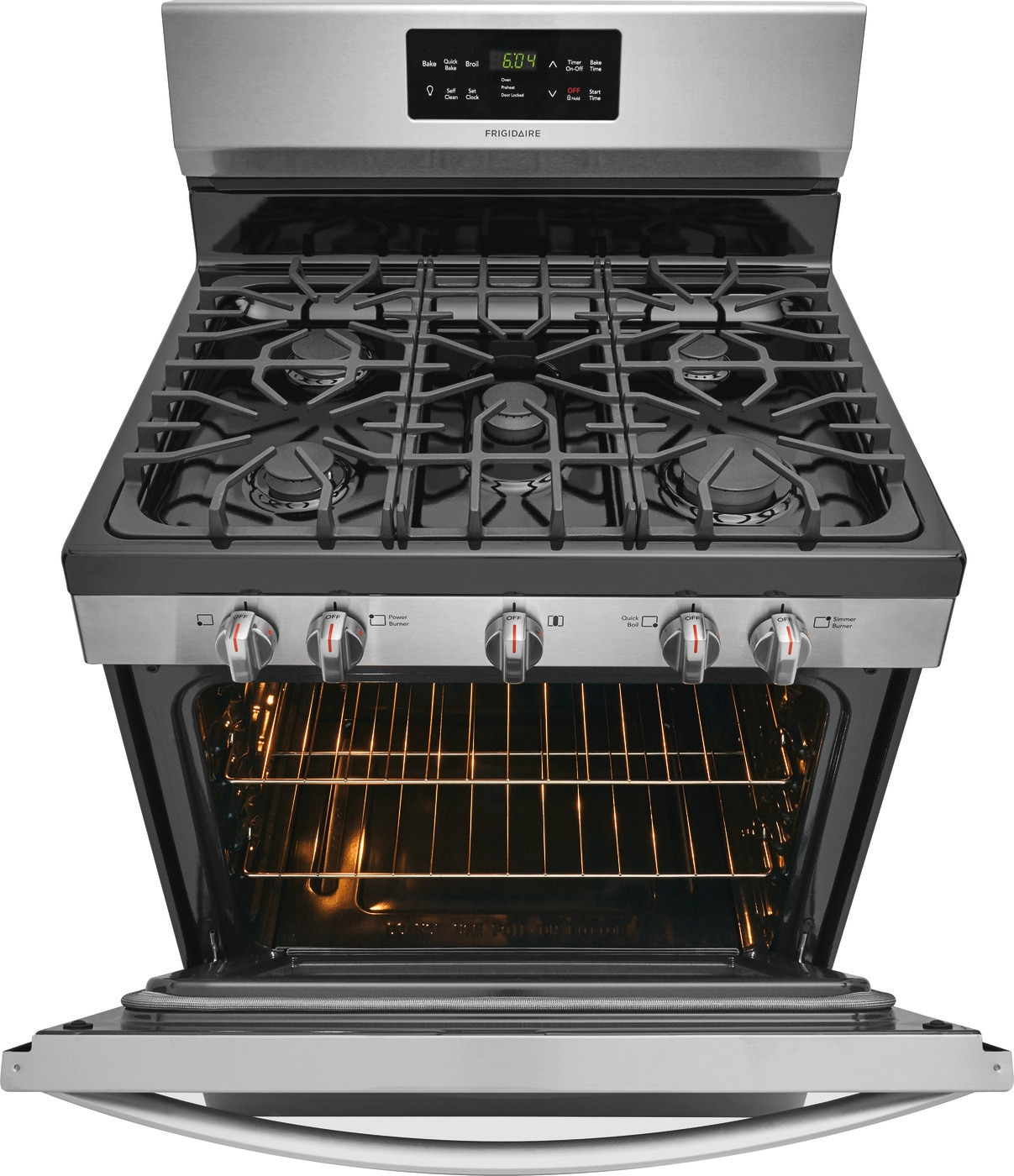 "30"" Gas Range Stainless Steel FFGF3056TS"