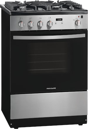 """24"""" Front Control Freestanding Gas Range Stainless Steel FFGH2422US"""