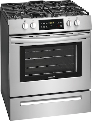 "30"" Front Control Gas Range Stainless Steel FFGH3051VS"