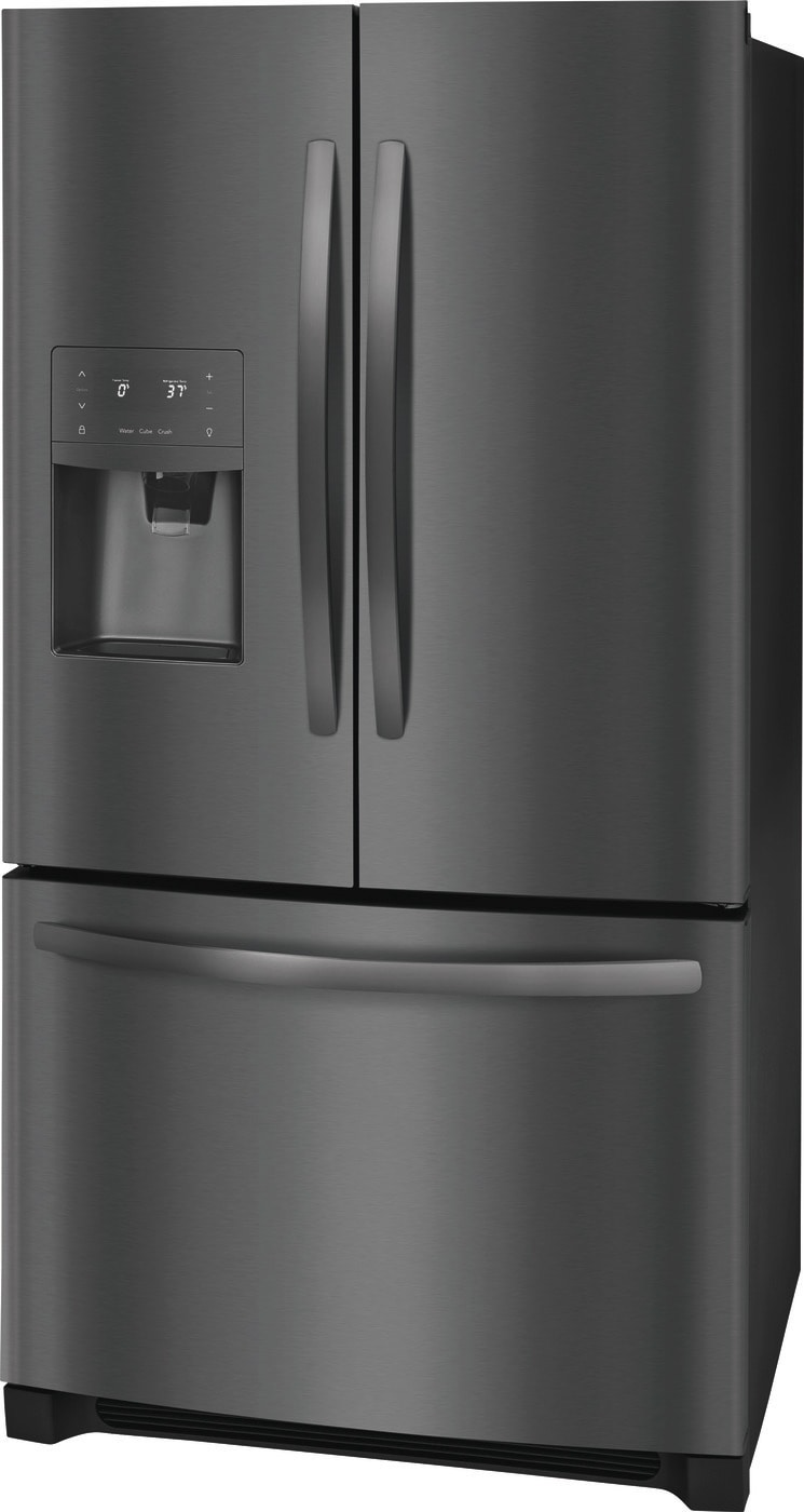 26.8 Cu. Ft. French Door Refrigerator Black Stainless Steel FFHB2750TD