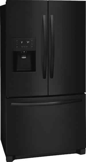26.8 Cu. Ft. French Door Refrigerator Ebony Black FFHB2750TE