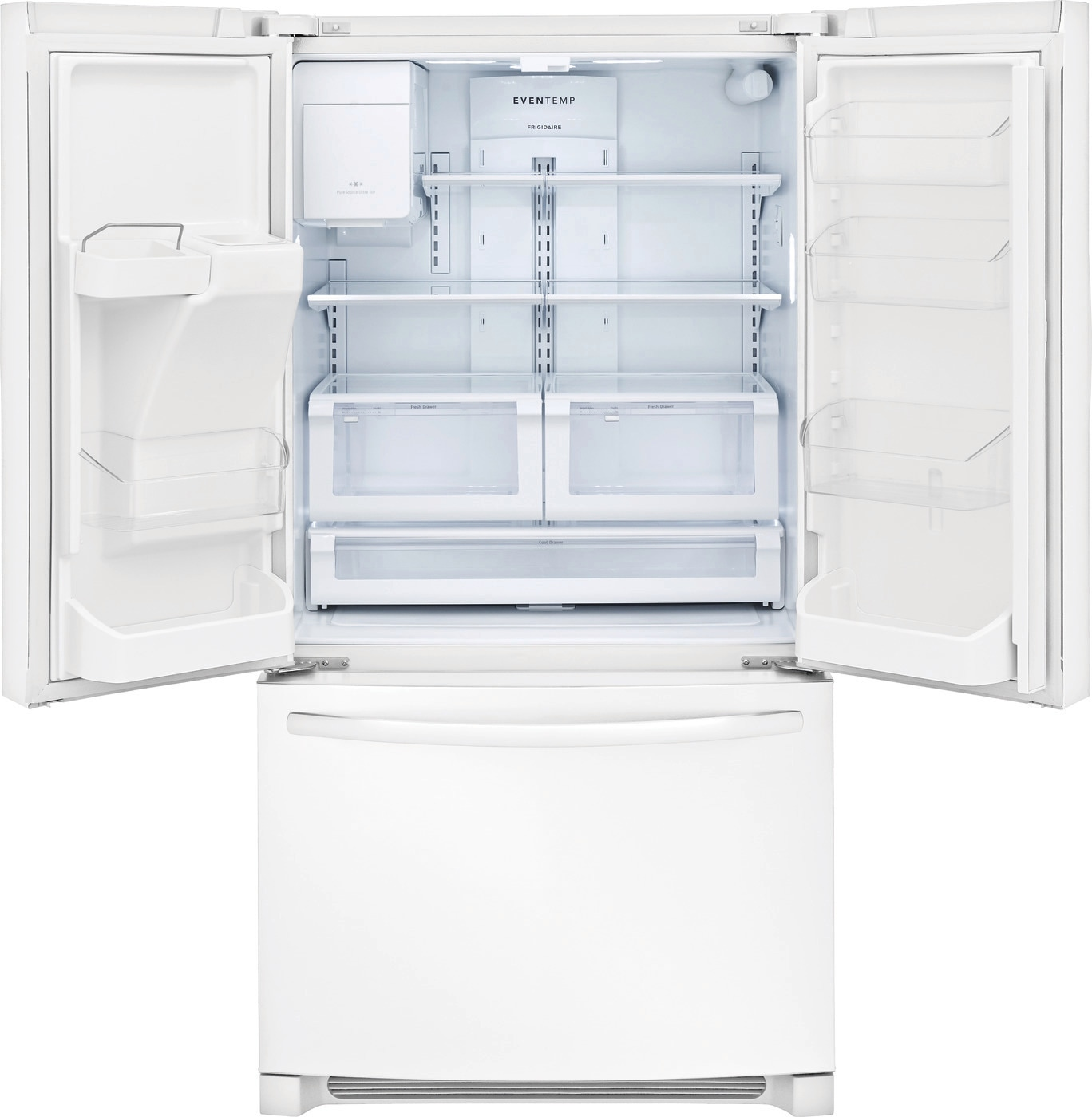 26.8 Cu. Ft. French Door Refrigerator Pearl White FFHB2750TP