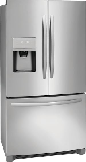 21.7 Cu. Ft. French Door Counter-Depth Refrigerator Stainless Steel FFHD2250TS