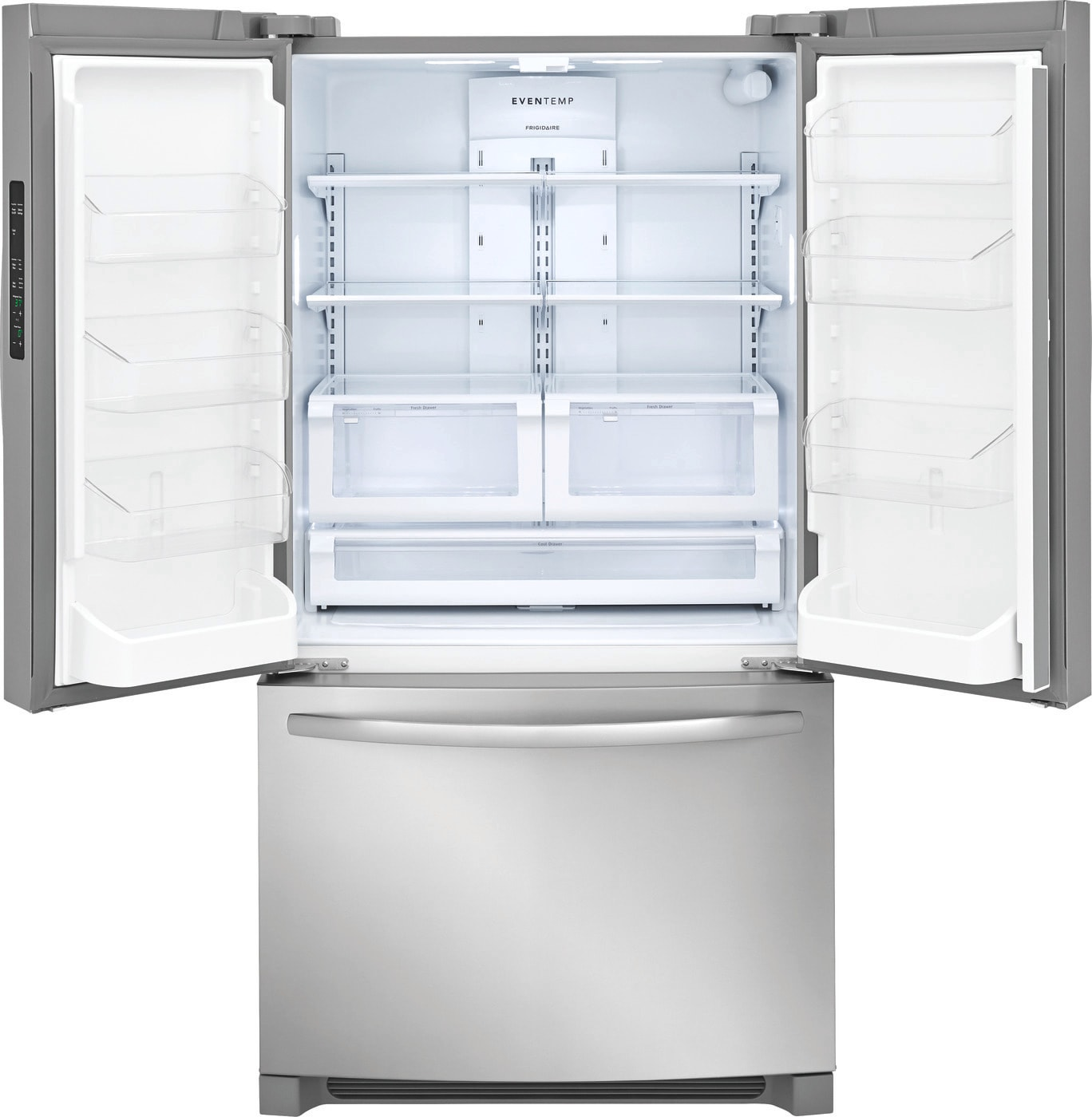 27.6 Cu. Ft. French Door Refrigerator Stainless Steel FFHN2750TS