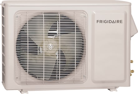 Ductless Split Air Conditioner Cool and Heat- 9,000 BTU, Heat Pump- 115V- Outdoor unit White FFHP094CS1
