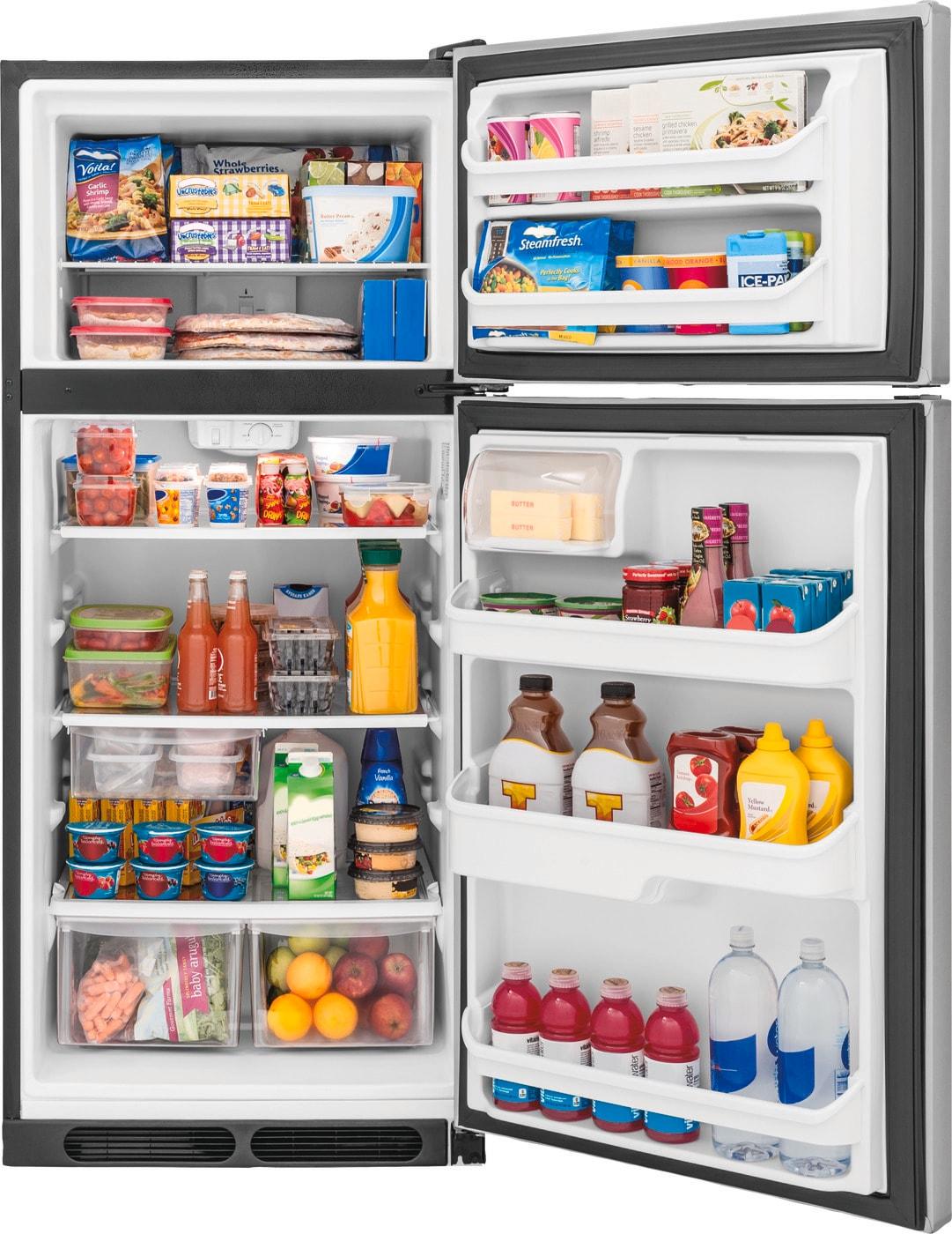 Model: FFHT1621TS   Frigidaire 16.3 Cu. Ft. Top Freezer Refrigerator