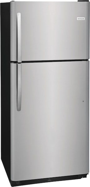 20.4 Cu. Ft. Top Freezer Refrigerator Stainless Steel FFHT2033VS