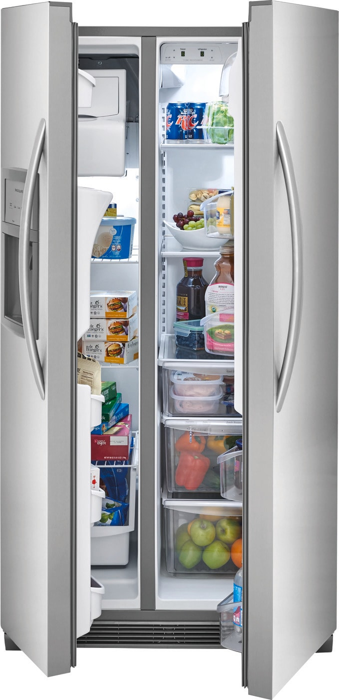 22.1 Cu. Ft. Side-by-Side Refrigerator Stainless Steel FFHX2325TS