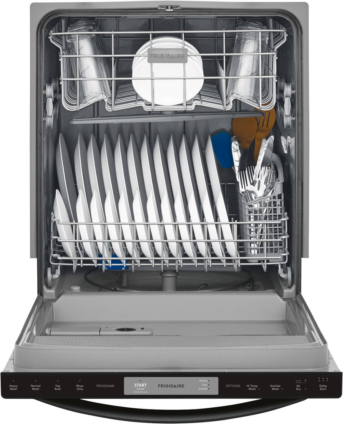 Frigidaire 24 Built In Dishwasher Black Ffid2426tb