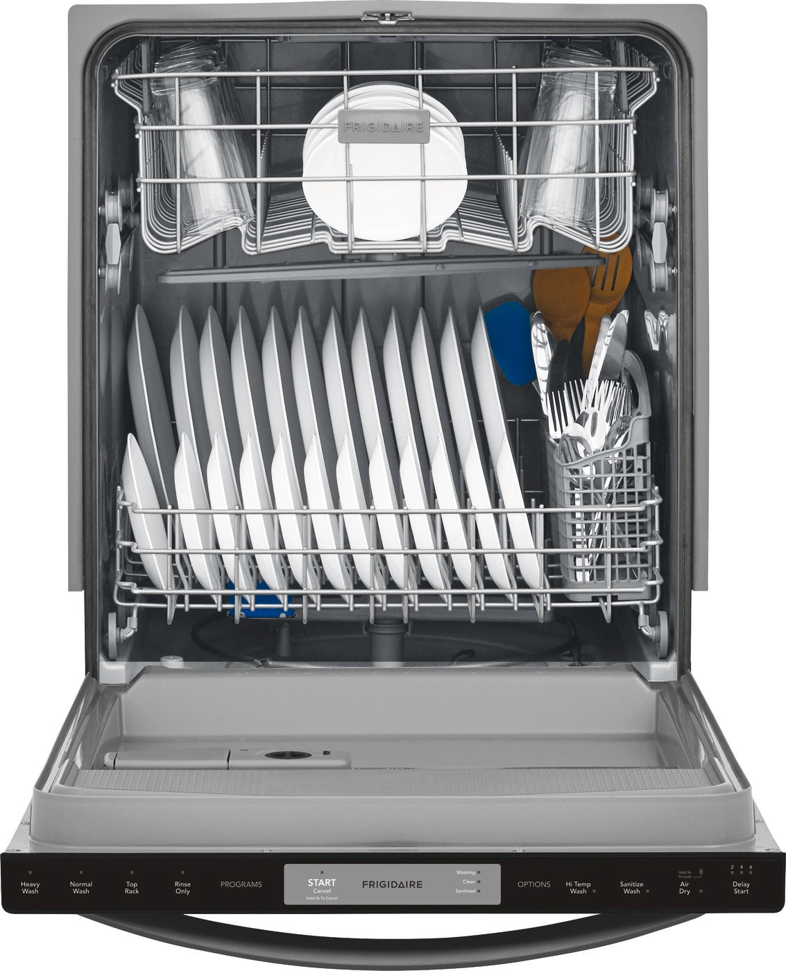 "24"" Built-In Dishwasher Black Stainless Steel FFID2426TD"