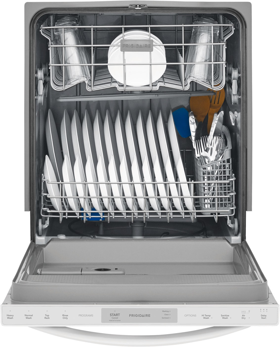 Frigidaire 24 Built In Dishwasher White Ffid2426tw