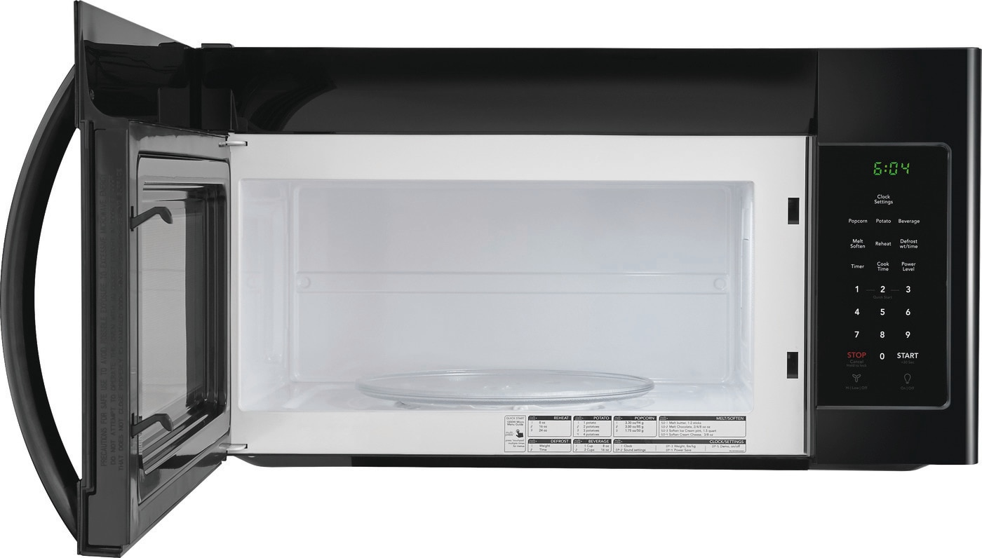 1.6 Cu. Ft. Over-The-Range Microwave Black FFMV1645TB