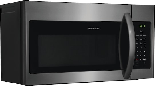 1.6 Cu. Ft. Over-The-Range Microwave Black Stainless Steel FFMV1645TD