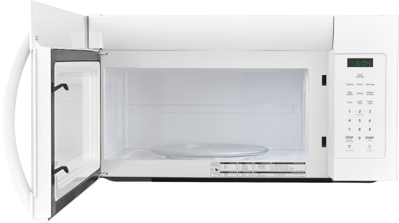 1.6 Cu. Ft. Over-The-Range Microwave White FFMV1645TW