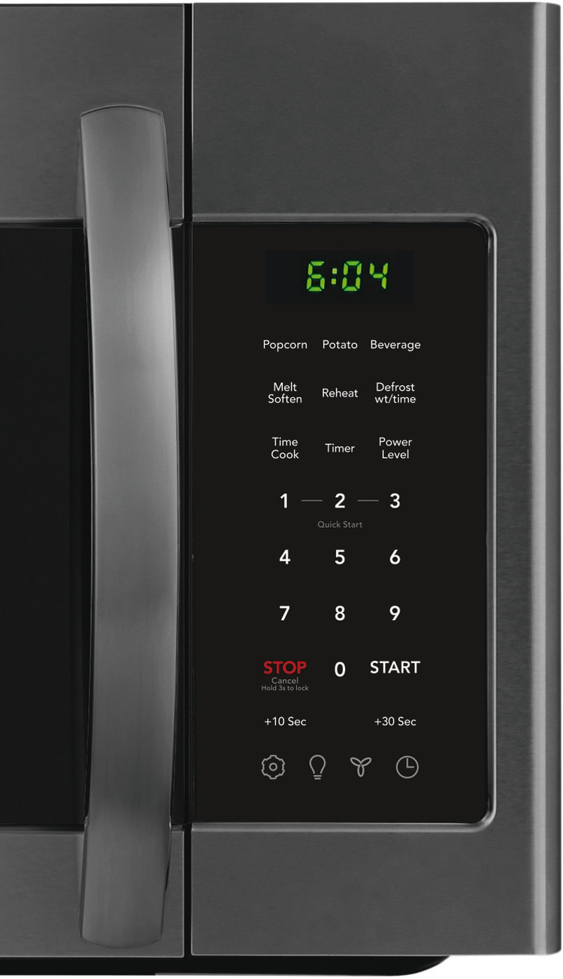 1.8 Cu. Ft. Over-The-Range Microwave Black Stainless Steel FFMV1846VD