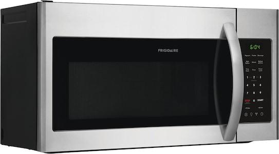 Four à micro-ondes à hotte intégrée de 1,8 pi cu Acier inoxydable FFMV1846VS