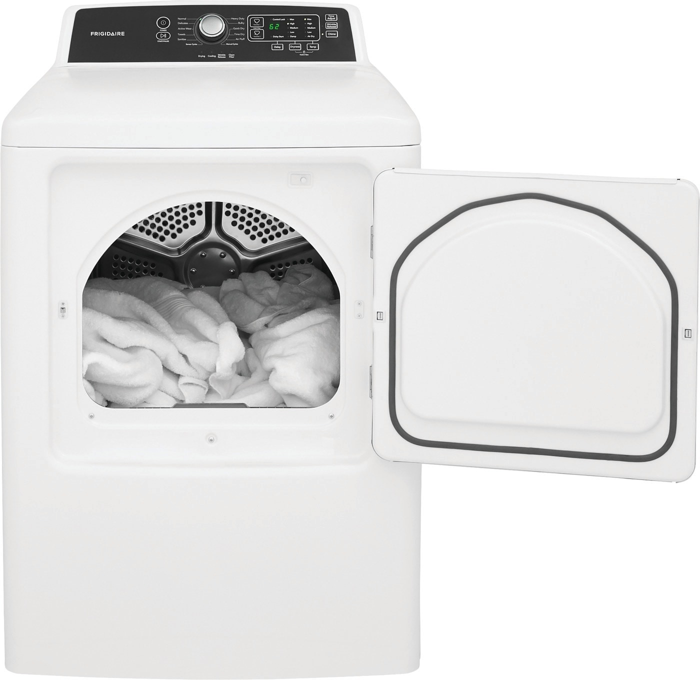 6.7 Cu. Ft. Free Standing Gas Dryer White FFRG4120SW