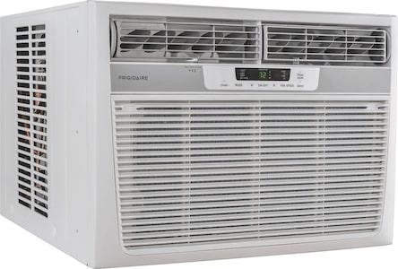 18,500 BTU Window-Mounted Room Air Conditioner with Supplemental Heat White FFRH1822R2