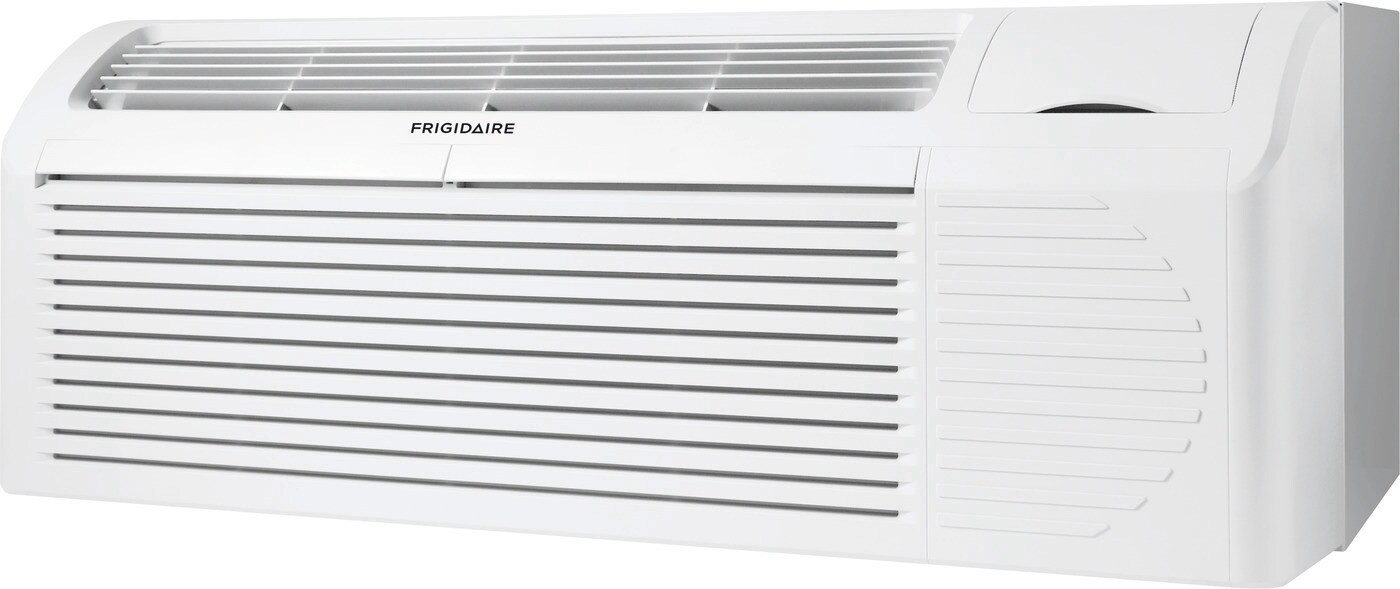 PTAC unit with Heat Pump and Electric Heat backup 7,200 BTU 208/230V with Corrosion Guard and Dry Mode White FFRP072HT3
